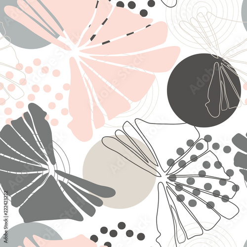 Foto  Leaves background vector