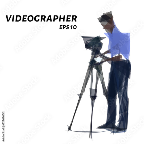 Photo Videographer from triangles
