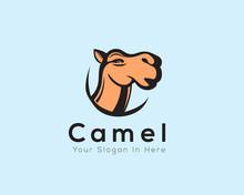 Head Camel Logo Art