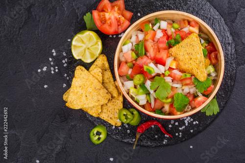 Mexican Pico de Gallo salsa