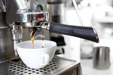 Kawa Espresso. Parzenie Kawy W...