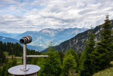 Viewpoint In South Tyrol,Meran 2000.