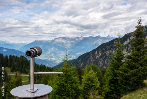 Photo Viewpoint in South Tyrol,Meran 2000.