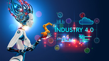 Concept Industry 4.0. Artifici...