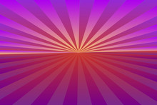 Abstract Sunburst Pattern, Gradient Purple (violet, Magenta) Ray Colors. Vector Illustration, EPS10. Geometric Pattern. Use As Background, Backdrop, Image Montage, Mock Up Template, Etc.