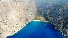 Butterfly Valley Is A Valley In Fethiye District Of Muğla Province, Southwestern Turkey, Which Is Home To Diverse Butterfly Species.