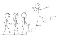 Cartoon Stick Drawing Conceptu...