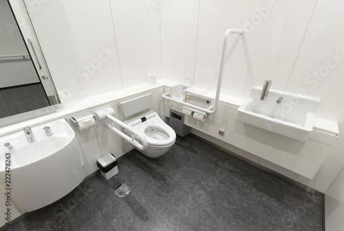 Fotografia, Obraz  多機能トイレ(多目的・高機能トイレ)の内部