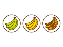 Banana Ripeness Illustration