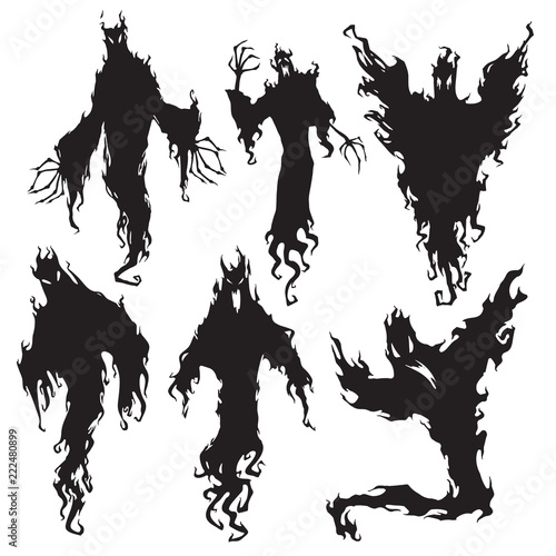 Photo Evil spirit silhouette