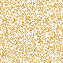 Winter Seamless  Pattern With ...