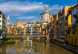 Riverside houses in Girona's Old quarter