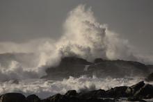 Stormy Breaking Waves