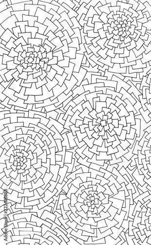 Optical illusion coloring pages - Optical illusions coloring book ... | 500x310