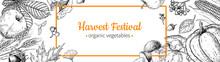 Harvest Festival Banner. Hand ...