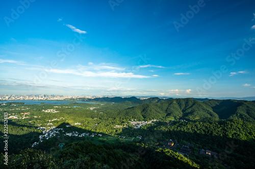 landscape of mountain