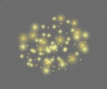 Vector Shining Magic Lights On...