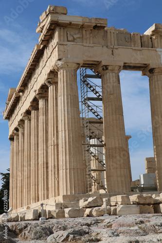Fotografie, Obraz  Parthenon Under Repair Athens Greece
