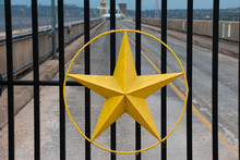 Gold Star At Mansfield Dam