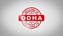 Welcome To DOHA Signed Stampin...