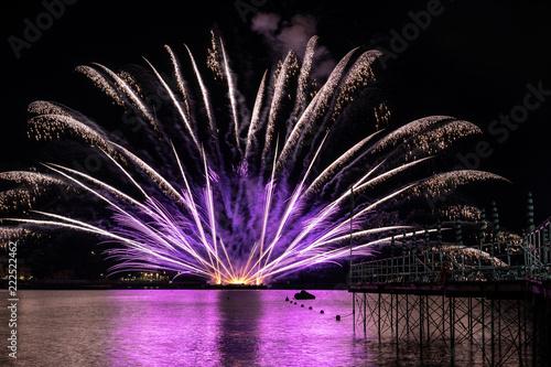 Fotografie, Obraz  fuochi d'artificio