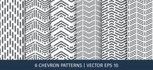 Set Of Chevron Patterns. Vector