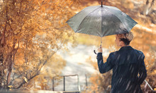 Autumn Rainy Weather And A You...