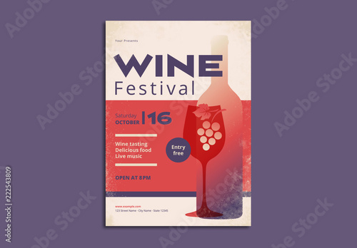 wine festival poster layout buy this stock template and explore