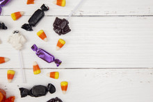 Halloween Candy Background On ...