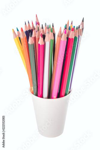Fotografie, Obraz  pencils in a holder
