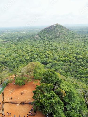 Foto op Canvas Pistache Sigiriya Rock in Sri Lanka