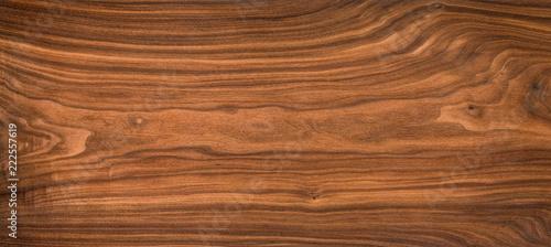Türaufkleber Holz Super long walnut planks texture background.Walnut wood texture.