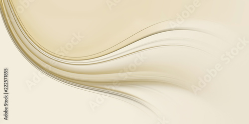 Cadres-photo bureau Abstract wave Background for design with beige wave