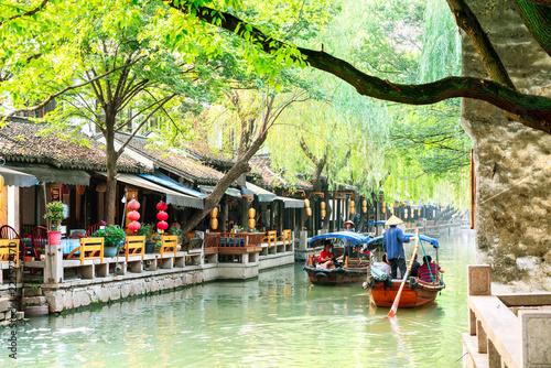 Tuinposter Historisch geb. The Chinese element -- Zhouzhuang