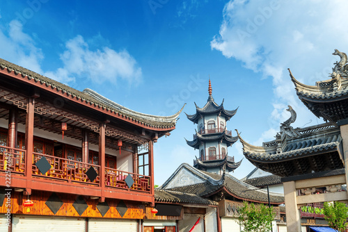 Foto op Aluminium Historisch geb. Chinese style buildings