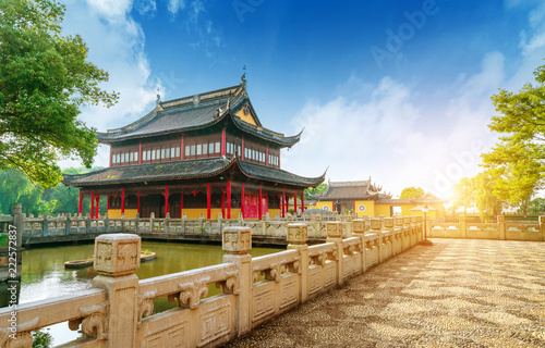 Foto op Aluminium Historisch geb. The Chinese ancient architecture
