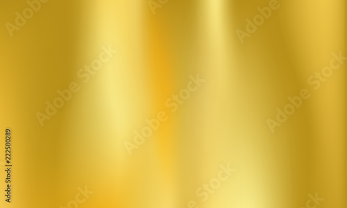 Fototapeta Gold foil background golden metal holographic obraz