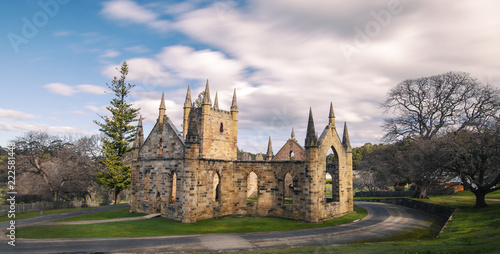 Photo Port Arthur the old convict colony and historic jail located in Tasmania, Austra