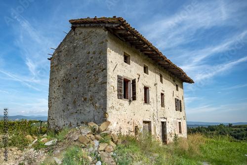 Fotografija  Ruine eines Winzerhauses im Friaul