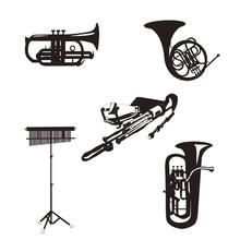 金管楽器5種類