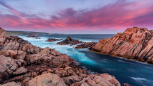 Western Australia Canal Rock Sunrise