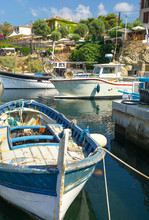 Bateau De Pêche, Port De Centuri, Corse
