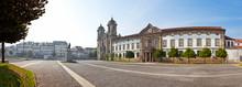 Braga, Portuga. Populo Church. Mannerist, Rococo And Neoclassical Architecture.