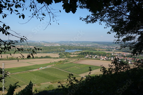Fotografie, Obraz  Aussicht bei Löwenstein