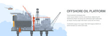 Offshore Sea Oil Platform And ...