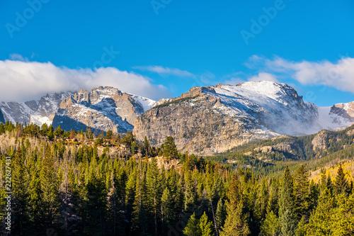 In de dag Verenigde Staten Autumn in Rocky Mountains, Colorado