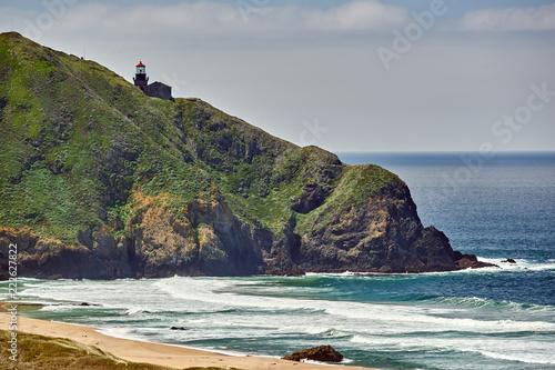 Staande foto Verenigde Staten Pacific coast landscape in California