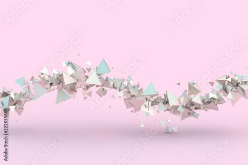 abstrakcjonistyczny-3d-rendering-geometryczni-ksztalty-nowoczesny-projekt-tlo