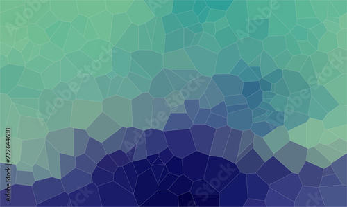Flat abstract voronoi shapes geometric background