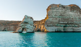 Fototapeta Rocks - Milos island,Greece.Kleftiko beach 2.